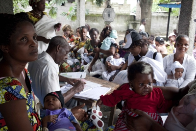 DRC community health worker