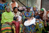 Nigeria women and children